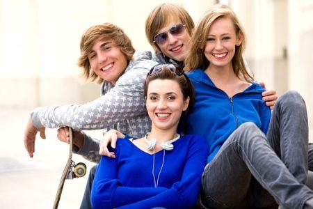 Four friends Stock Photo - 5765525