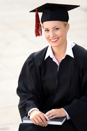 Female graduate  photo