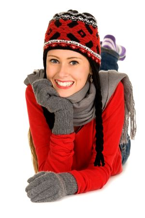 Winter woman Stock Photo - 5802878