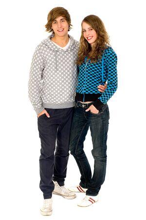 Happy teenagers Stock Photo - 6009376