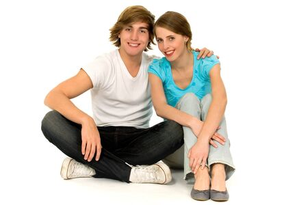 Teenage couple  Stock Photo - 6031966