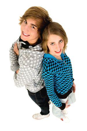 Teenage couple Stock Photo - 6089469