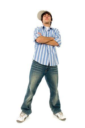 arrogancia: Seguro de hombre joven