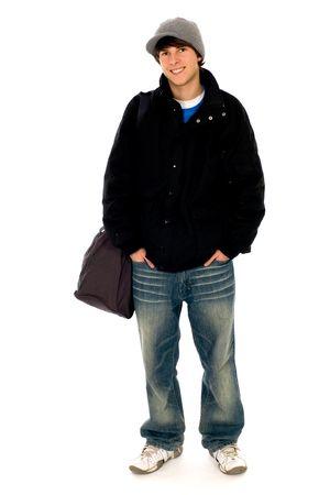 jeune mec: Guy occasionnel de jeune cool  Banque d'images