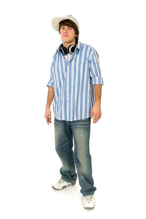 Casual cool young guy Stock Photo - 6119257