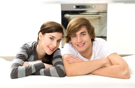 Couple at home Stock Photo - 6445949