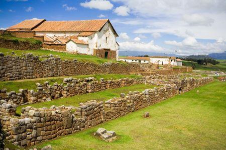 incan: Chinchero, rovine Inca, Per�