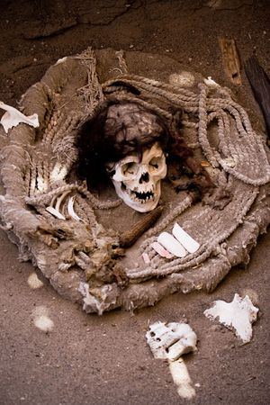 mummified: Mummy, Nazca, Peru