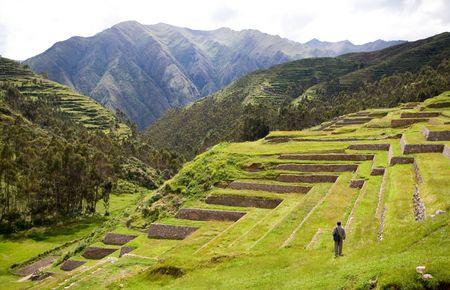 incan: Chinchero, Incan Ruins, Peru