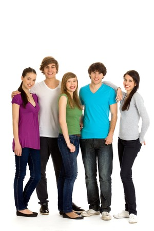 Group of friends Stock Photo - 7013626
