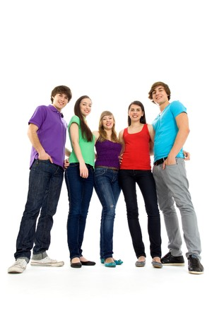 group of teens: Group of friends