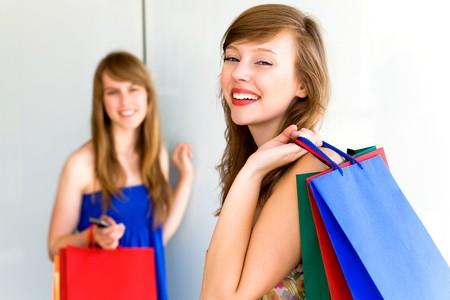 Women Shopping Stock Photo - 7605300