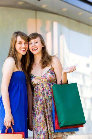 Women Shopping Stock Photo - 7605338