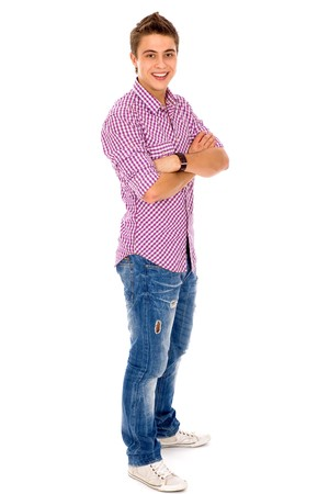 Young Man in Casual Clothes Stock Photo - 8016303