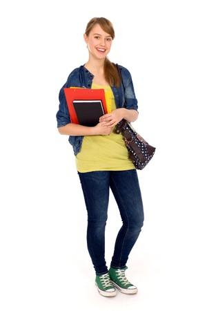 trendy girl: Female student