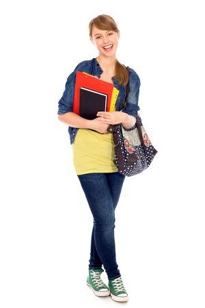 school teens: Female student