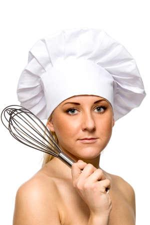 Female chef photo