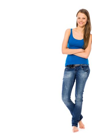 Casual young woman Stock Photo - 9295448