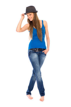 Casual young woman Stock Photo - 9295447