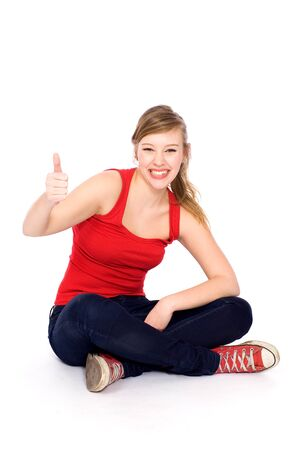 Thumbs up Stock Photo - 9334134