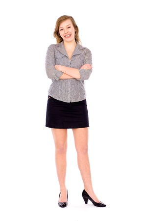 Young businesswoman Stock Photo - 9356921