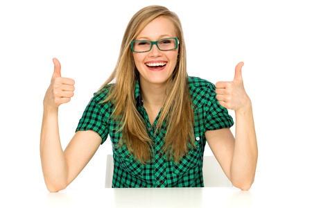 Thumbs up Stock Photo - 9573243