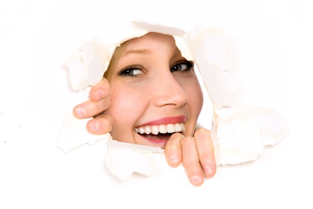 dentudo: Mirando a trav�s del agujero de papel