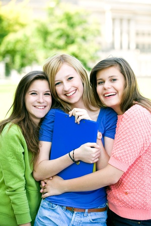 Female students Stock Photo - 10385694