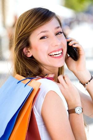 Woman Shopping Stock Photo - 10567587