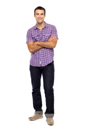 Young man standing Stock Photo - 10944345