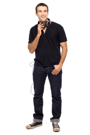Young man standing Stock Photo - 10944340