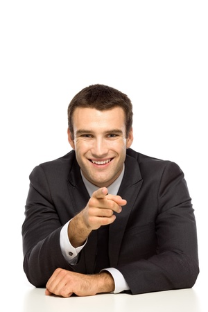chosen one: Businessman pointing at you