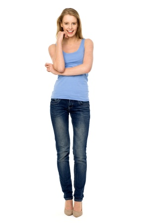 Hose: Casual junge Frau