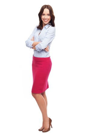 Attractive woman standing photo