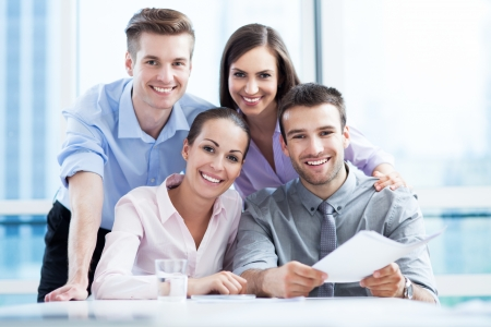 Business team at the office Stock Photo - 20350702
