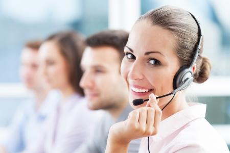 support team: Call center team
