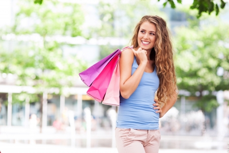Shopping woman Stock Photo - 21620885