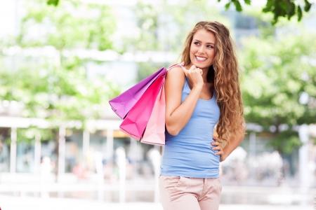 Shopping woman Stock Photo - 21620885