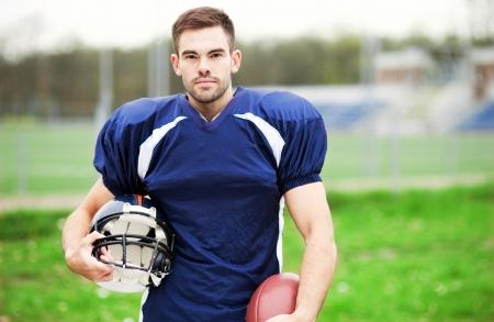 Jugador de fútbol americano Foto de archivo - 23806745