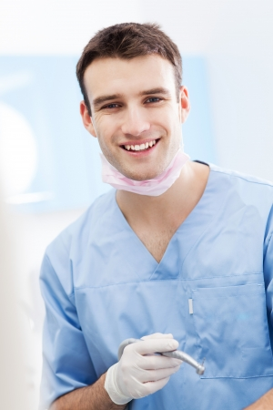 Male dentist photo