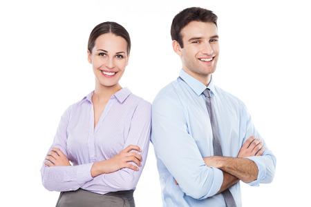 business couple: Business couple