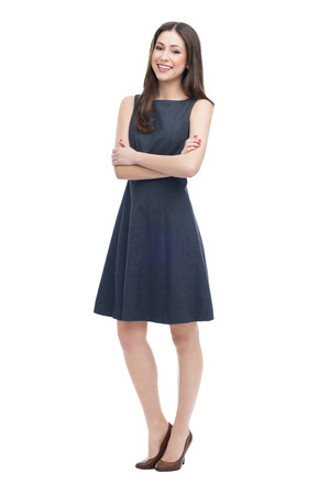 female executive: Full length of attractive young woman Stock Photo