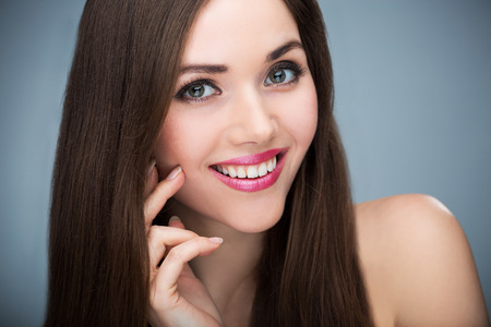 natural make up: Woman beauty portrait