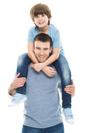 padres: Padre e hijo