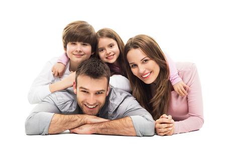 Mladá rodina s dvěma dětmi