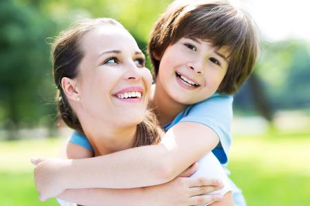 mamá hijo: madre e hijo