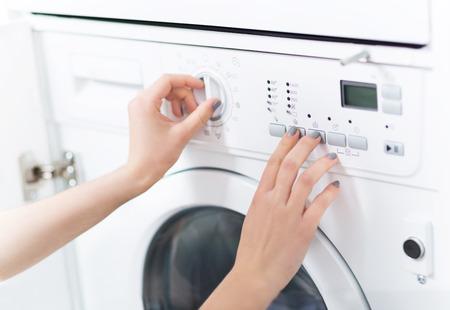 Waschmaschine  Lizenzfreie Bilder