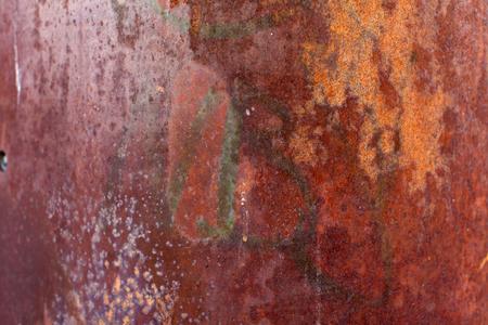 corrode: Metal rust background