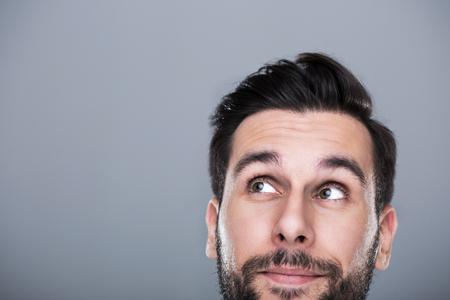 Mann, der oben