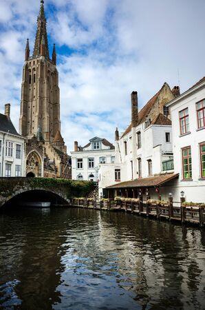 faade: Brugge, Belgium Stock Photo